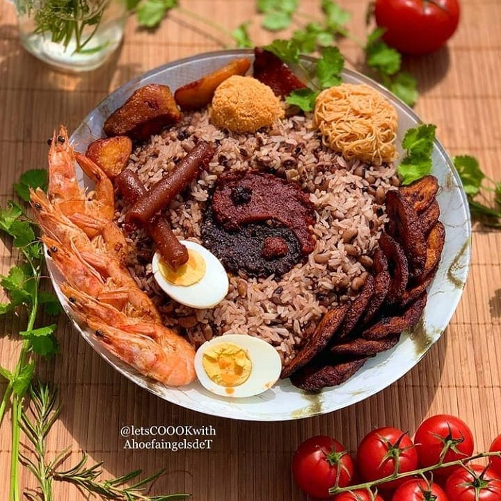 delicious waakye recipe