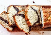 banana brown loaf cake