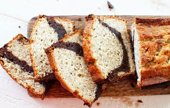 banana brown loaf cake