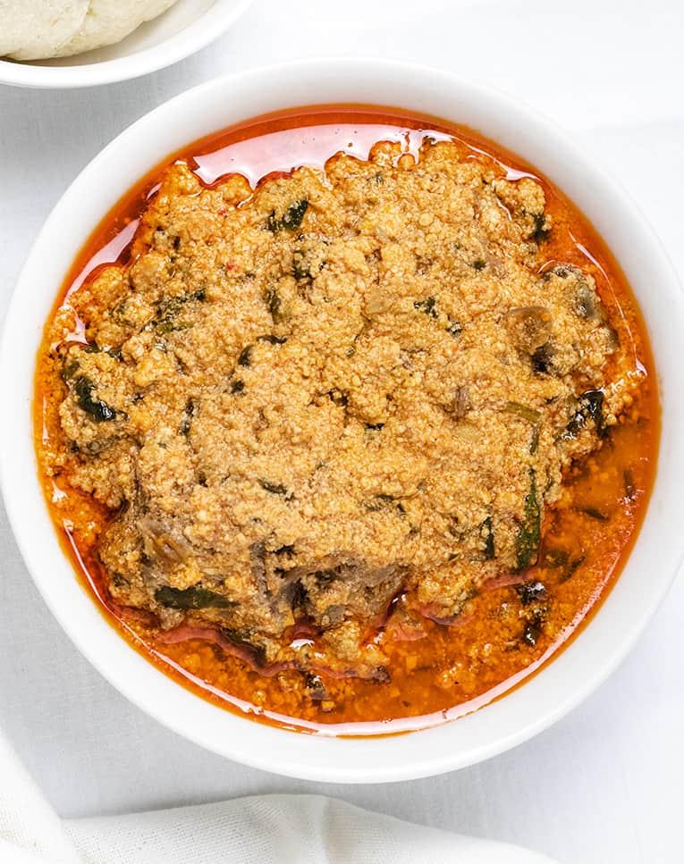 cabbage egusi soup