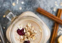 Creamy Oatmeal Smoothie With Banana