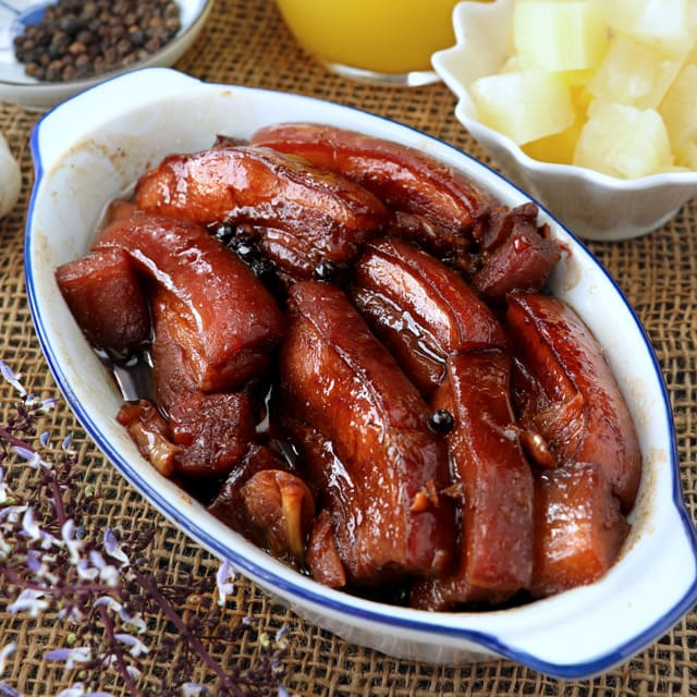 Delicious Pork Hamonado recipe.