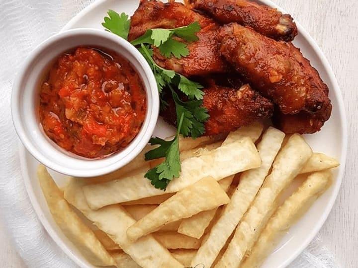 yam chips recipe