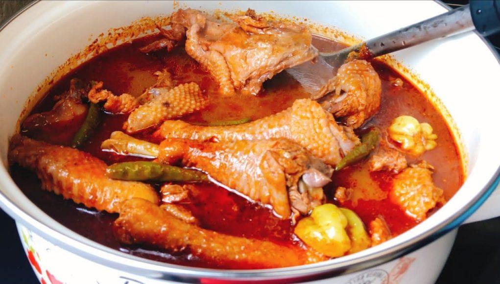 chicken light soup