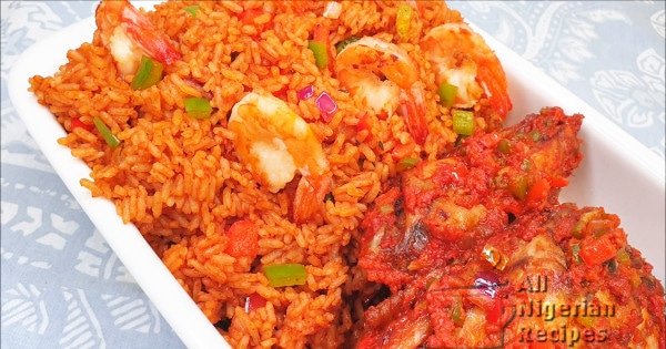 nigeria special jollof rice