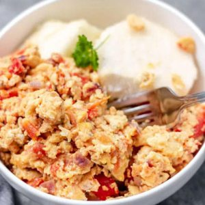 How To Prepare Yam And Egg Sauce