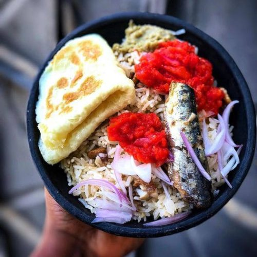 angwa moo braised rice