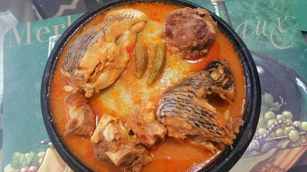 tilapia soup